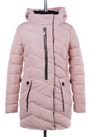 04-1871 Куртка демисезонная (Синтепон 200) Плащевка розовый