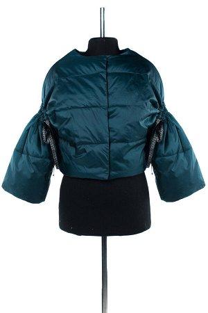04-1864 Куртка демисезонная (Синтепух 80) Плащевка зеленый