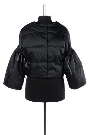 04-1863 Куртка демисезонная (Синтепух 80) Плащевка черный