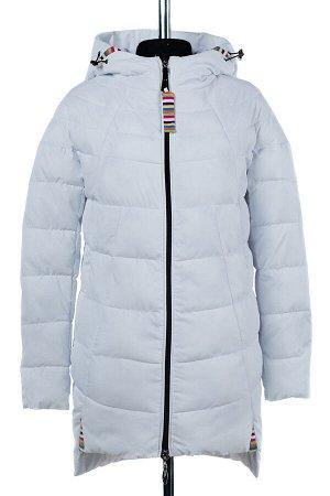 04-1859 Куртка демисезонная (Синтепон 150) Плащевка белый