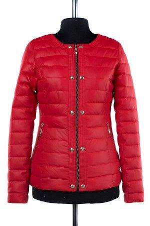 04-1920 Куртка демисезонная (Синтепух 100) Плащевка красный