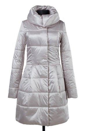 04-2113 Куртка демисезонная (синтепон 150) Плащевка Розовый жемчуг