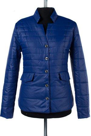 04-1377 Куртка демисезонная University (синтепон 100) Плащевка синий