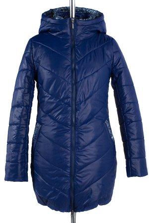04-1137 Куртка демисезонная (Синтепон 200) Плащевка синий
