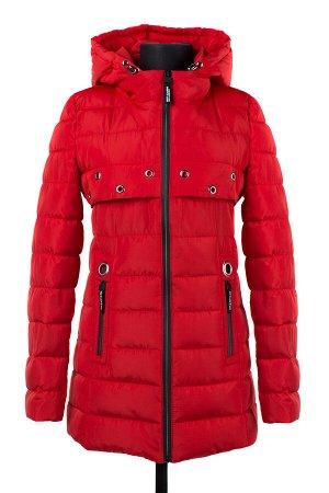 04-2094 Куртка демисезонная (Синтепон 100) Плащевка красный