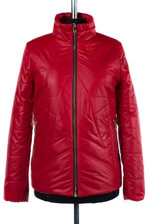 04-1841 Куртка демисезонная (синтепон 100) Плащевка красный