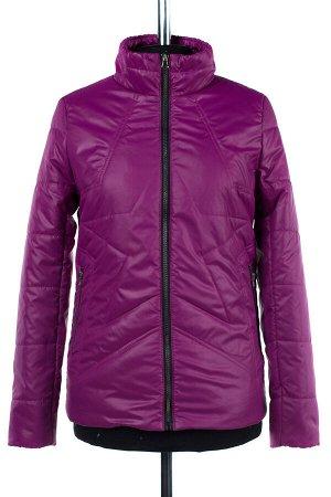 04-1840 Куртка демисезонная (синтепон 100) Плащевка Слива