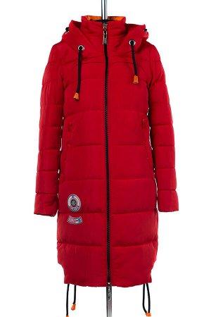 04-1838 Куртка демисезонная (синтепон 200) Плащевка красный