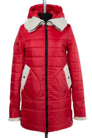 05-1251 Куртка зимняя (Синтепон 300) SALE Плащевка красный