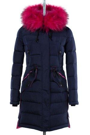 05-1581 Куртка зимняя (Синтепон 300) Плащевка темно-синий