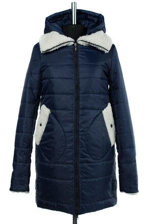 05-1226 Куртка зимняя (Синтепон 300) SALE Плащевка темно-синий