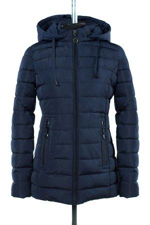 05-1661 Куртка зимняя (Синтепух 300) Плащевка темно-синий