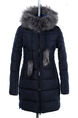 05-1591 Куртка зимняя (Синтепон 300) Плащевка темно-синий