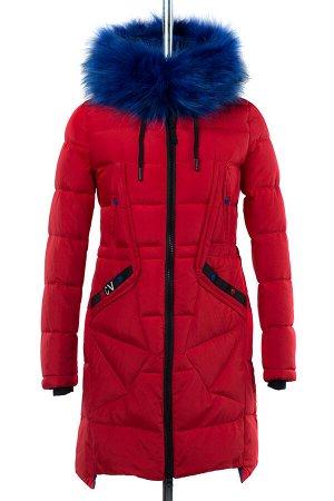 05-1565 Куртка зимняя (Синтепон 300) Плащевка красный