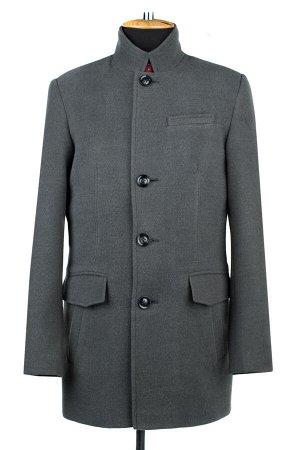 06-0315 Пальто мужские демисезонные (рост 182) Кашемир серый