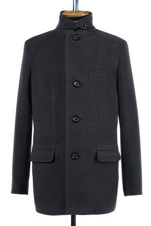 06-0304 Пальто мужское демисезонное (рост 176) Кашемир светло-серый