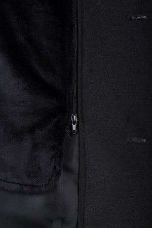 Пальто мужское утепленное (рост 176)