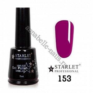 Гель-лак Starlet Professional №153 «Фиолетовое кружево»