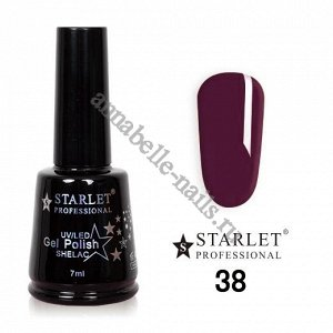 Гель-лак Starlet Professional №038 «Винный туман»