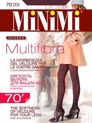 MULTIFIBRA  70 ден 3D колготки из микрофибры,с ластовицей