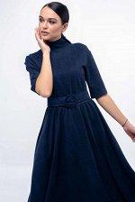 Платье Стелла ПЛ 0319 темно-синий