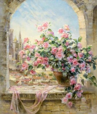 Алмазная мозаика — это удивительное творчество и релакс — Цветы