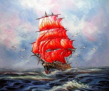 Алмазная мозаика - это удивительное творчество и релакс!  — Корабли и машины — Мозаики и фреска