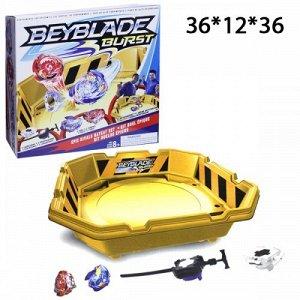Набор BeyBlade Burst Огромная Арена + 2 волчка + 2 запускателя