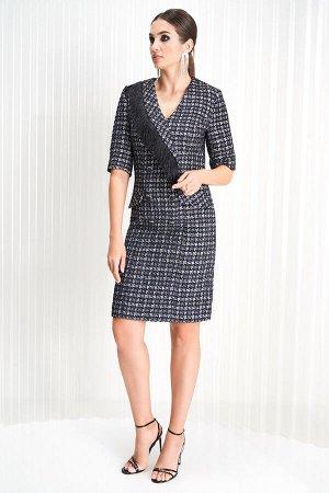 Нарядное платье в стиле шанель