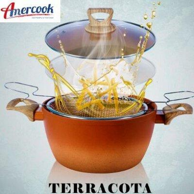 """#Осенние новинки💥Набор сковородок AMERCOOK от 399 руб -5!  — Новинка! Amercook Серия """"Terracotta"""" — Посуда"""