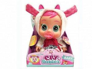 Кукла-пупс Прекрасная игрушка для девочки. Одетая в яркий костюмчик зайчика кукла заскучает, если надолго оставить ее без внимания. 18.0*14*0*27.0