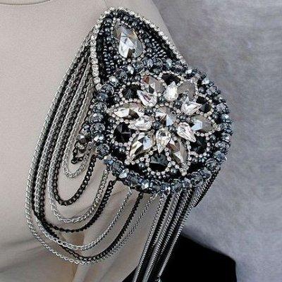 ৡСамые модные украшения для милых дамৡ — Брошь-эполет — Броши