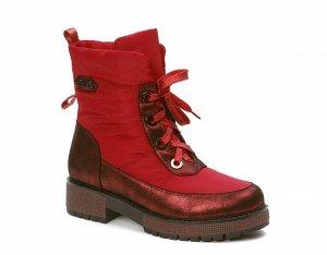 Сапоги женские KB646RT Rot Красный