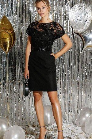 Платье DiLiaFashion Артикул: 0297 черный