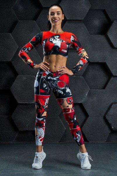 FITSKIN - Спортивная одежда для сильных и ярких людей-4! — Лосины — Для женщин