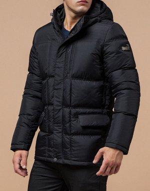 Куртка современная графитовая модель 2609