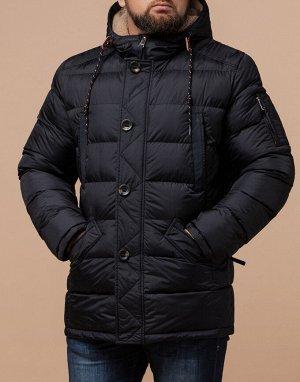 Оригинальная куртка черного цвета модель 35502