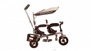 Велосипед детский 3-х кол. с толкателем (двойняшки) OBL658864 Т021DG (1/1)