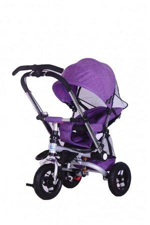 Детский 3-х колесный велосипед  ZZ-TC--001 (1/1) фиолетовый