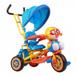 Детский 3-х колесный велосипед JT1011 (W8) (желто/голубой) (1/1)