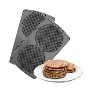 """Панель """"Голландские вафли"""" для мультипекаря REDMOND (форма для выпечки крекеров и вафель) RAMB-12"""