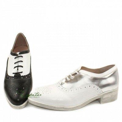 Обувь made in Spain. Удобная и практичная — Оксфорды — Низкие