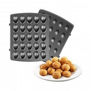Панель для мультипекаря REDMOND RAMB-118 (орешки), Черный