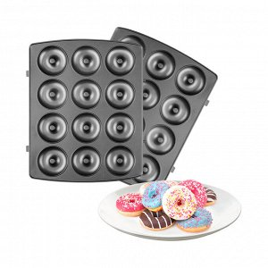 Панель для мультипекаря REDMOND RAMB-105 (пончики), Черный