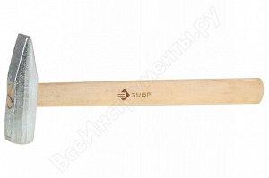 ЗУБР 1000 г молоток слесарный с деревянной рукояткой