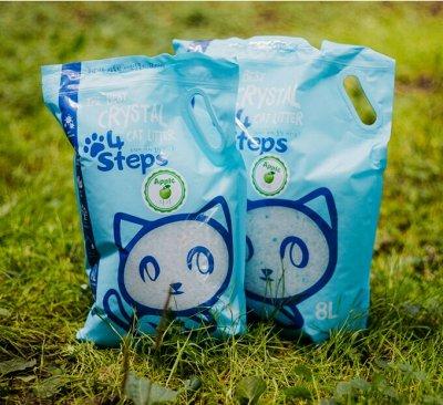 Наполнители для кошек, шампуни, лакомства из Ю.Кореи! — Премиальный силикагелевый наполнитель — Туалеты и наполнители