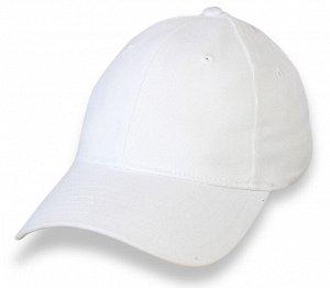 Белая бейсболка под сублимацию – однотонная основа для любых принтов