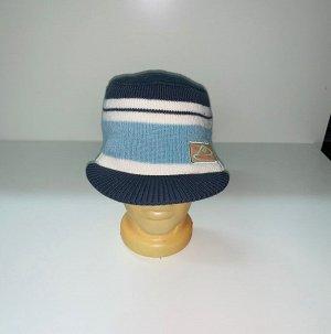 Шапка Полосатая шапка с козырьком  №3974
