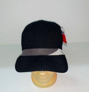 Шапка Трендовая шапка с козырьком  №1607