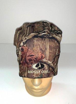 Шапка Надежная камуфляжная шапка Mossy Oak  №1739